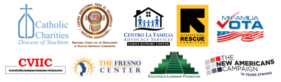 Logos of Central Valley organizations